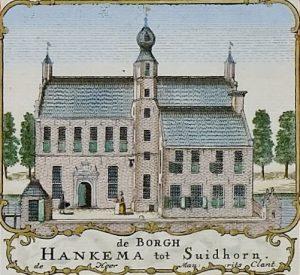 Tekening Hanckemaborg door Beckeringh