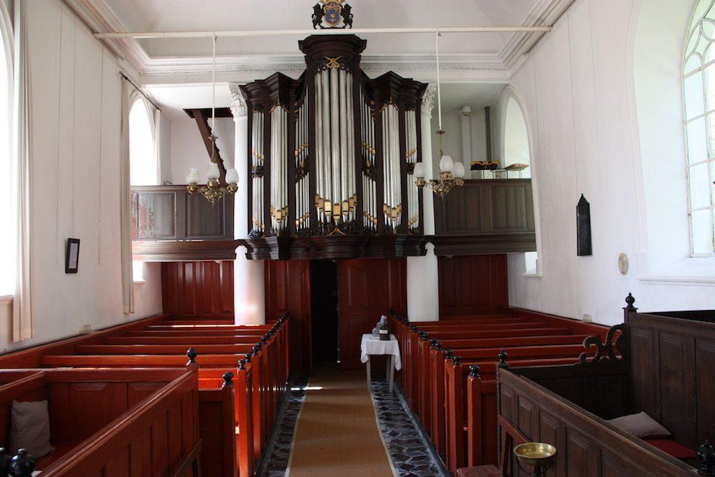 Orgel in kerk van Breede