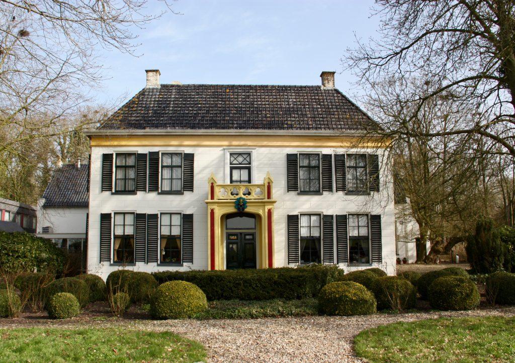 Ekenstein aan het Damsterdiep bij Appingedam
