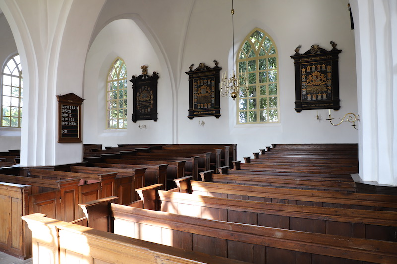 interieur Jacobikerk/borgen en kerken