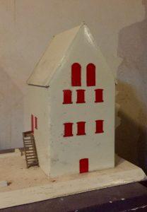 Maquette steenhuis Appingedam