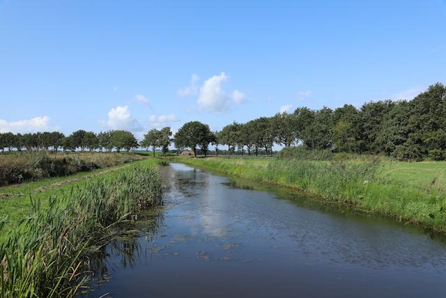 Rondwandeling Wedderborg, Westerwoldse Aa bij Wedde
